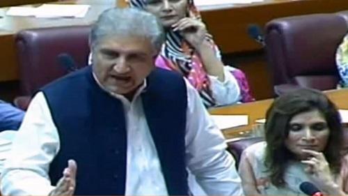 مسئلہ کشمیر کے حوالے سے بھارت آج دفاعی پوزیشن پر ہے، وزیرِ خارجہ