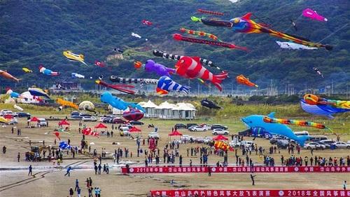 چین میں بین الاقوامی پتنگ میلے کا انعقاد