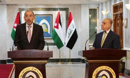 عراق اور اردن کے وزرائے خارجہ کی ملاقات