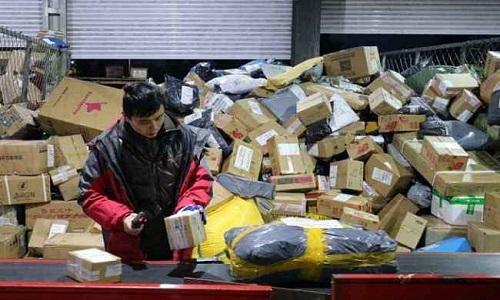 سال دو ہزار انیس کے دوران چین کے بتیس لاکھ کورئیرز نے ترسٹھ ارب پیکجز کی ترسیل کی