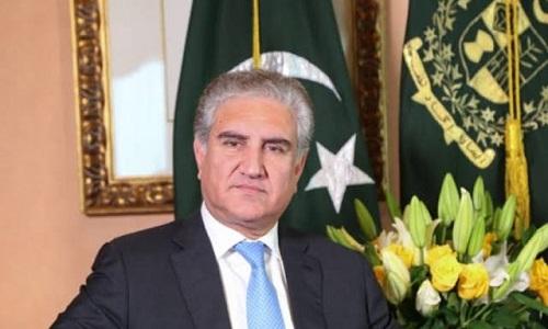 پاکستان کی کاوشوں کی بدولت ہی امریکہ اور افغان طالبان مذاکرات کے لیئے رضا مند ہوئے، وزیر خارجہ