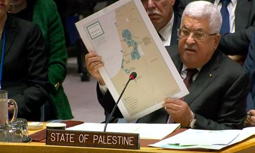 فلسطینی صدر نے امریکہ کا امن منصوبہ مسترد کر دیا