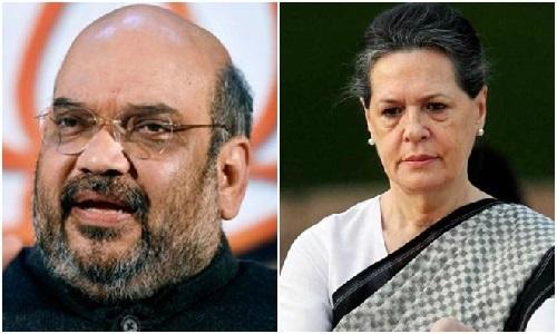 سونیا گاندھی کا بھارتی وزیر داخلہ امیت شاہ سے مستعفی ہونیکا مطالبہ