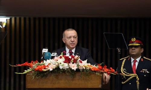 پاکستان اور ترکی مشترکہ مذہب، ثقافت اور اقدار کے حامل ممالک ہیں، ترک صدر