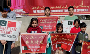 چینی عوام سے اظہار یکجہتی کے لیے اسلام آباد میں ریلی کا انعقاد
