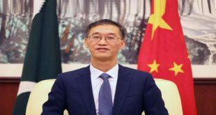 کرونا وائرس کی وجہ سے پاکستان اور چین کے درمیان اقتصادی تعاون نہیں رُکے گا، چینی سفیر