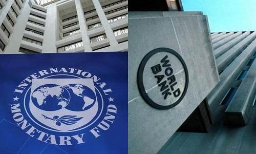 آئی ایم ایف اور عالمی بینک کا اپنے قرض دہندہ ملکوں پر قرض کی ادائیگیاں معطل کرنے پر زور