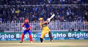 پشاور زلمی کا کراچی کنگز کو جیت کے لیے 152 رنز کا ہدف