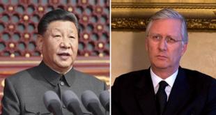 چینی صدر اور بیلجیئم کے بادشاہ فلپ کے درمیان ٹیلفونک گفتگو