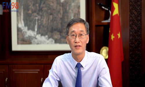 چین پاکستان سفارتی تعلقات کی 69ویں سالگرہ کے موقع پر چینی سفیر یاو جنگ کا پیغام