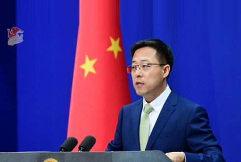 چین اور بھارت سفارتی و فوجی ذریعوں سے متعلقہ مسئلے کے حل کیلئے قریبی رابطے میں ہیں، وزارت خارجہ