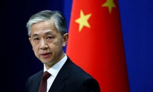امریکہ عالمی برادری کی مخالف سمت میں کھڑا ہے، چینی وزارت خارجہ
