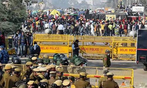 مطالبات نہ مانے گئے تو دلی کی اہم شاہراہیں بند کردینگے، بھارتی کسان