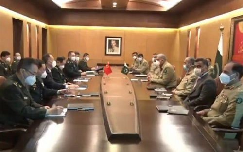 پاکستان اور چین ہر معاملے میں ہمیشہ ساتھ کھڑے ہیں، آرمی چیف