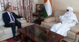 وزیر خارجہ اور نائیجر کے وزیراعظم کا دوطرفہ تعلقات کو مزید فروغ دینے پر تبادلہ خیال