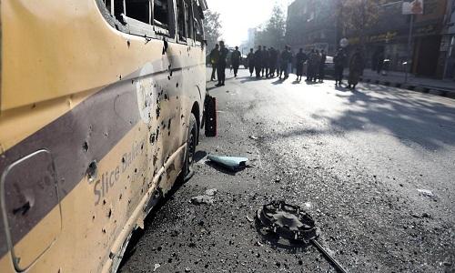 افغان دارالحکومت کابل میں 23 راکٹ حملے، 8 افراد ہلاک، متعدد زخمی