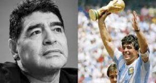 فٹبال لیجنڈ ڈیاگو میراڈونا انتقال کرگئے