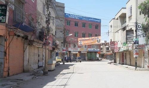 کراچی کے مختلف اضلاع میں مائیکرو اسمارٹ لاک ڈاؤن نافذ