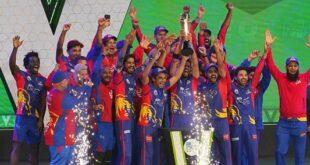 کراچی کنگز لاہور قلندرز کو 5 وکٹ سے شکست دے کر پہلی بار پی ایس ایل چیمپئن بن گیا۔