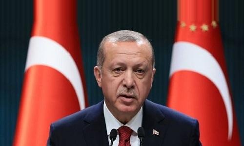 اپنے ملک کی ترقی کے لئے اقتصادی اور جمہوری سفر جاری رکھیں گے، ترک صدر