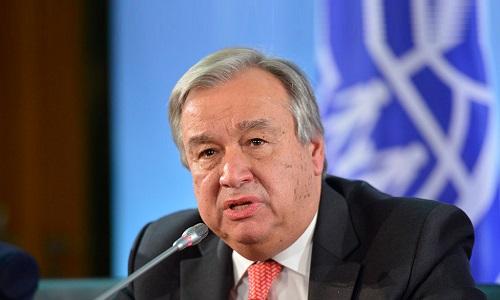 پاکستان اور بھارت تنازع کشمیر کے حل کیلئے اکھٹے ہوں، سیکرٹری جنرل اقوام متحدہ