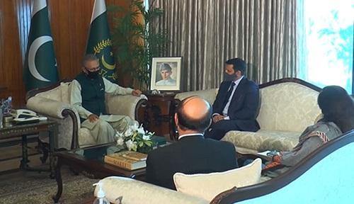 صدر مملکت کا پاکستان اور ازبکستان کے درمیان تعلقات کو مزید مستحکم بنانے پر زور