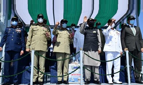 صدر مملکت کی جانب سے پاک بحریہ کو کثیر ملکی مشق امن-2021ء کے کامیاب انعقاد پر مبارکباد