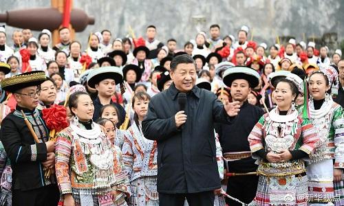 چین صدر کا تمام اہل وطن کے نام جشن بہار کی مبارکباد کا پیغام