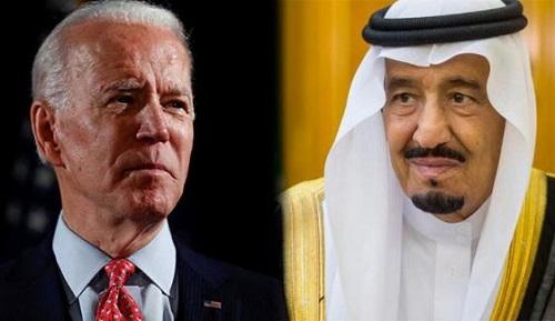 سعودی فرماں روا اور امریکی صدر کے درمیان ٹیلی فونک رابطہ، اہم اُمور زیرغور