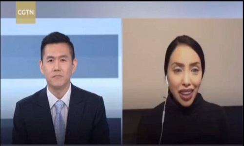 سابق مس نیو جرسی کا چائنا گلوبل ٹیلی ویژن نیٹ ورک کو دیا گیا خصوصی انٹرویو