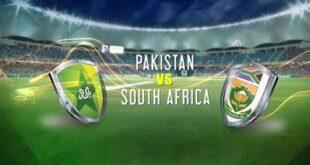 پاکستان - جنوبی افریقہ کے درمیان پہلا ٹی-20 انٹرنیشنل کرکٹ میچ 10 اپریل کو کھیلا جائے گا