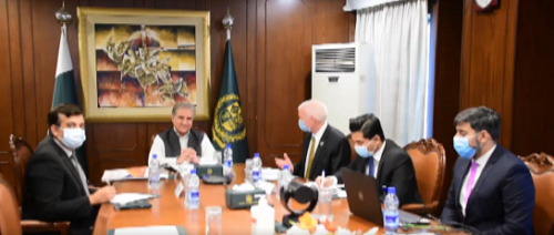 وزیر خارجہ نے پاکستان میں ترقیاتی منصوبوں میں اقوام متحدہ کے تعاون کو سراہا