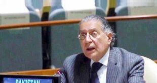 کشمیر میں پاکستان اور بھارت کے مابین صورتحال بین الاقوامی امن و سلامتی کیلئے خطرہ ہے، منیر اکرم