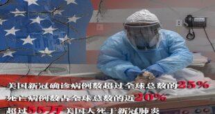 امریکہ کی انسداد وبا میں نمٹنے میں بڑی ناکامی