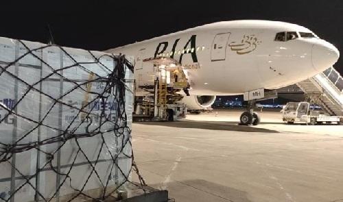 چین سے کرونا ویکسین کی ایک اور کھیپ پاکستان پہنچ گئی
