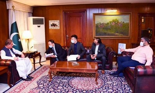 وزیر خارجہ شاہ محمود قریشی کی ہواوے ٹیکنالوجیز کے وفد سے ملاقات میں گفتگو