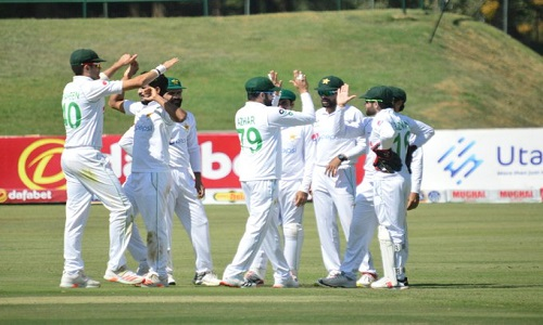 پاکستان اور زمبابوے کے درمیان آخری ٹیسٹ 7 مئی کو کھیلا جائے گا