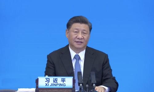 چینی صدر نے عالمی سیاسی جماعتوں پر زور دیا ہے کہ بین الاقوامی مسائل کو مشترکہ طور پر حل کیا جائے
