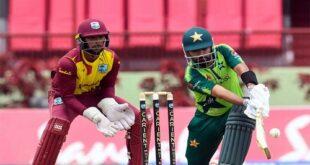 پاکستان نے ویسٹ انڈیز کیخلاف ٹی ٹوئنٹی سیریز اپنے نام کرلی
