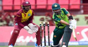 پاکستان اور ویسٹ انڈیز کے درمیان آخری ٹی ٹوئنٹی میچ آج کھیلا جائے گا