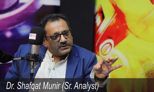 مشرق وسطیٰ کے لئے امریکی پالیسی کو شدید چلینجز کا سامنا رہے گا، ڈاکٹر شفقت منیر