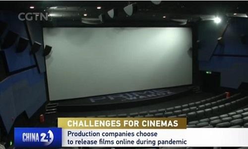 عالمی وباء کے دوران سینما انڈسٹری کو آن لائن چیلنجز کا سامنا