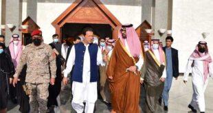 وزير اعظم عمران خان مدینہ منورہ پہنچ گئے